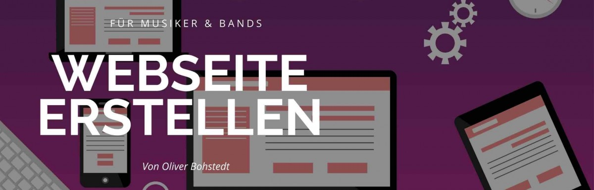 Musiker Website