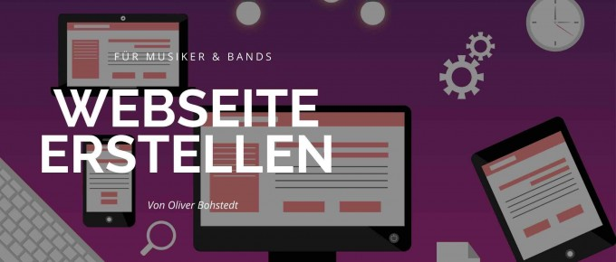 Musiker Website
